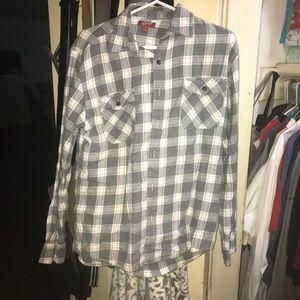 Grey & White Flannel- Arizona Jean Company